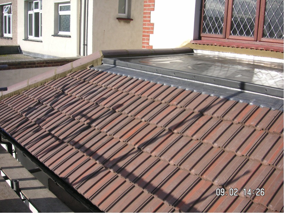 Flat roof tiles for flat roof for Flat tile roof